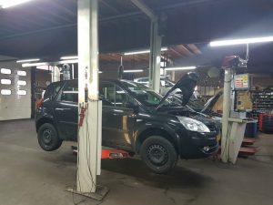 Werkplaats garage Vreeker