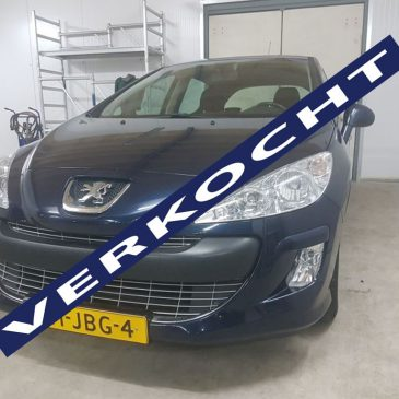 Te koop Peugeot 308 1.6Vti 2009